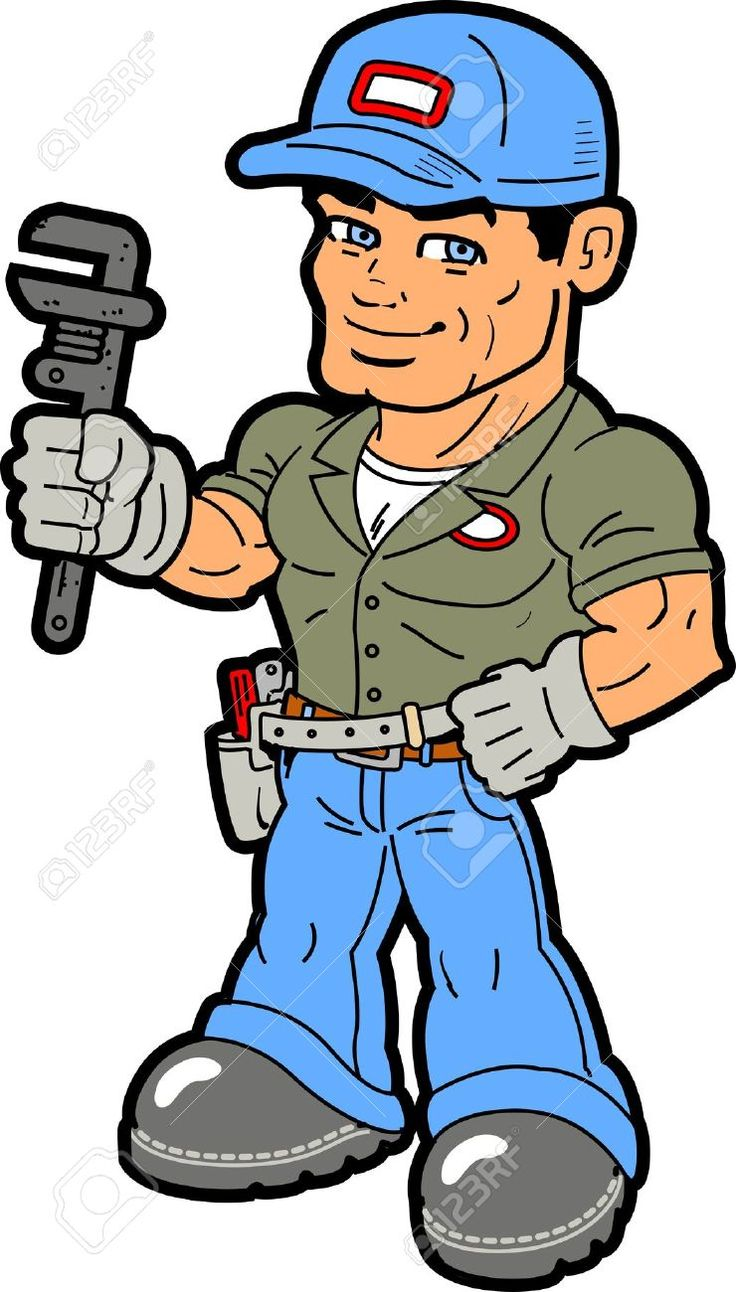 Smiling Handyman Holding Wrench Royalty Free Cliparts, Vectors, And Stock Illustration. Image 20686945.