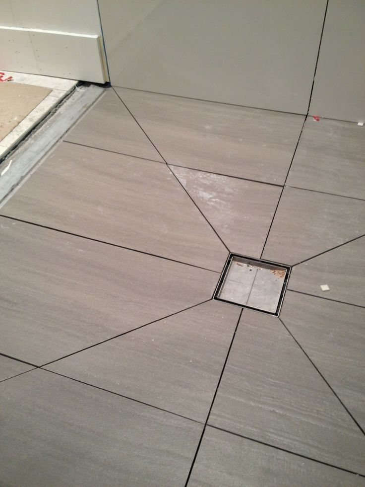 Diagonal Tile Cuts To Slope Shower Floor Airstream