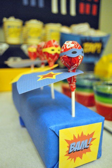 Superhero Birthday Party - Oh My Creative