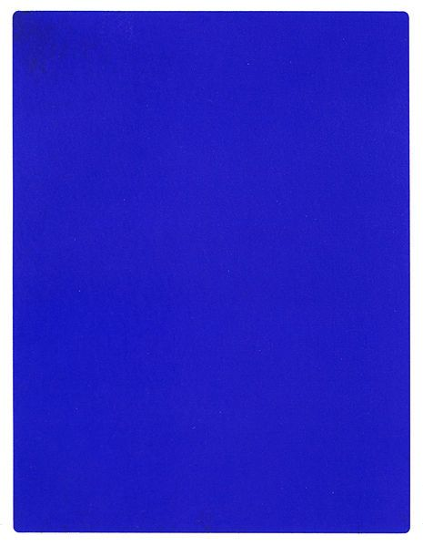 IKB (International Klein Blue). I am obsessed with this color.