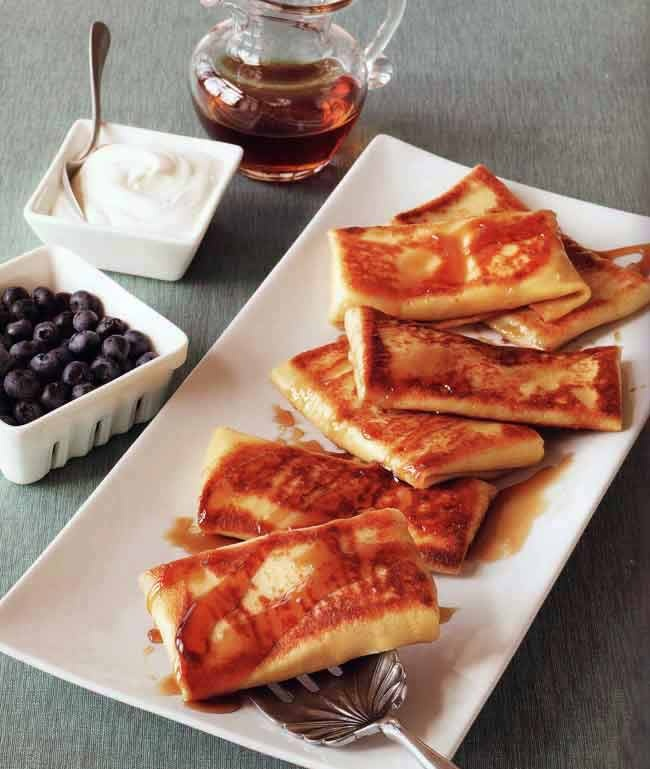 It's almost shavuot, superb blintzes (filled french crpes) recipe!