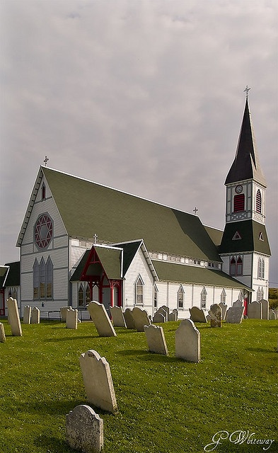 SO want to visit Newfoundland again! Per previous pinner - Anglican Church, Trinity, Newfoundland