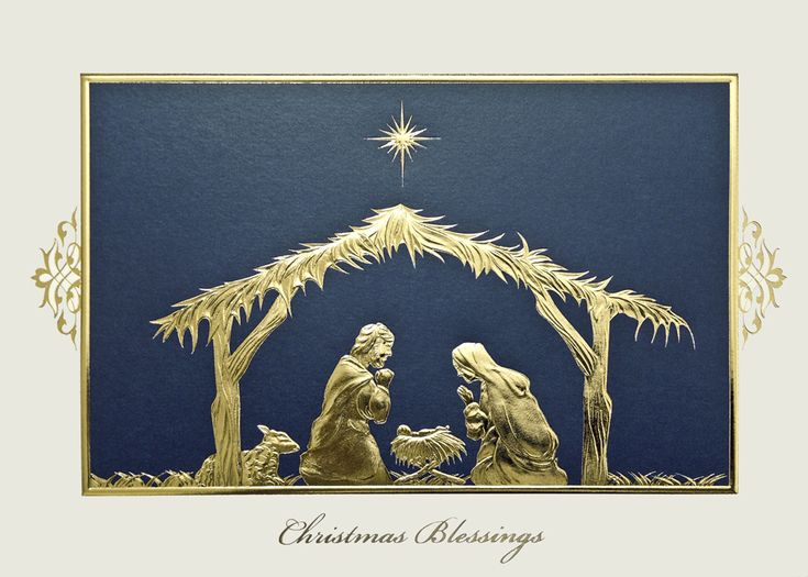36 best Religious Christmas Holiday Cards images on Pinterest ...