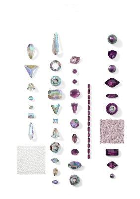 Swarovski Crystal Spring & Summer 2015 and 2016 Jewelry and Color Trends Progressive Theme - The Nature of Strength