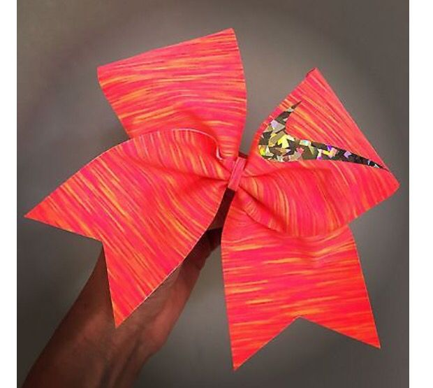 Sunset Nike cheer bow