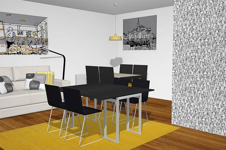 65 best mesas images on pinterest dining rooms mesas for Mesa comedor transformable