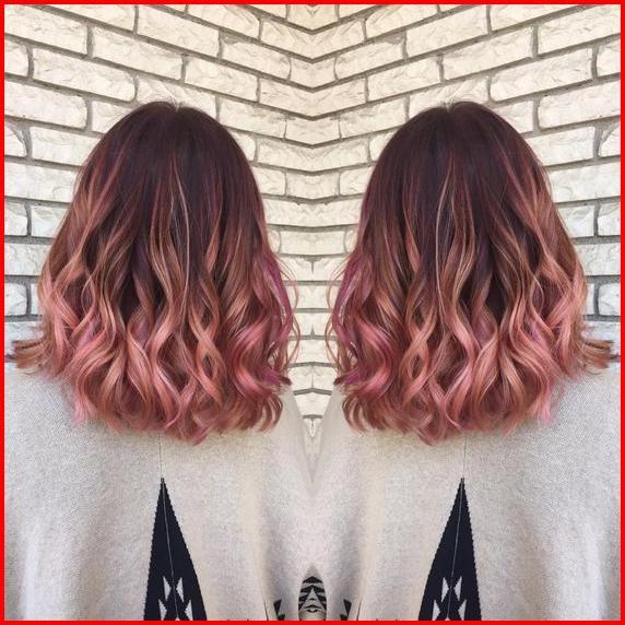 Rose Gold Ombre hair color ideas – Ooh la la