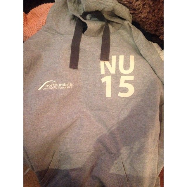 @g_e_z_xo via Instagram | Northumbria University | #IWANTNU | Hoodie