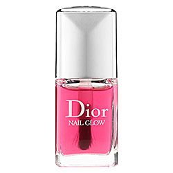 """Dior Nail Glow. """"When applied on bare nails, the pinks of the nails become pinker and the whites become whiter for a shining finish and healthy-glow effect."""" Available for $24 from Sephora."""