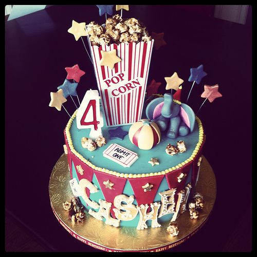 Carnival Theme Birthday Cake | Chelsea Mead | Flickr