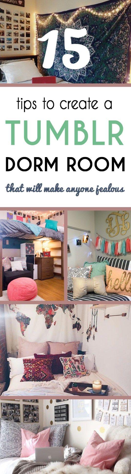 Tips To Create A Tumblr Dorm Room Thatll Make Anyone Jealous