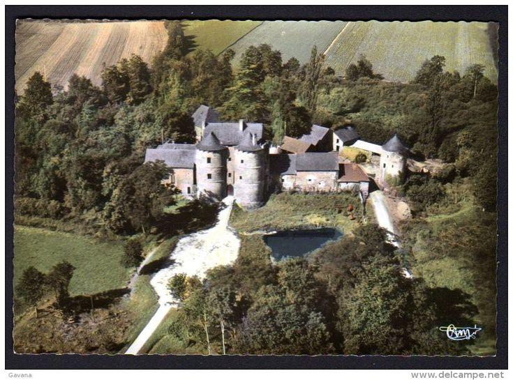 France - 35 MONTAUBAN-de-BRETAGNE - Le Grand Chateau - Vue aérienne