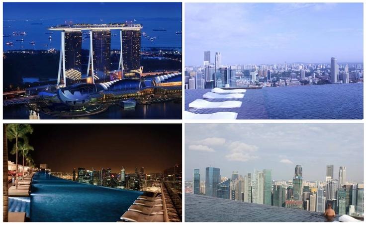 El Marina Bay Sands, es el hotel más lujoso del mundo.    Un chapuzón en su piscinita?    http://www.guias.travel/ver/?hotel/sg/marina-bay-sands.es.html