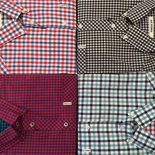 Can't go wrong with a classic!! Lots of options in the Ben Sherman gingham shirt are available so come by and get ready for spring!! ☀️ #torontofashion #bensherman #gingham #shoplocal