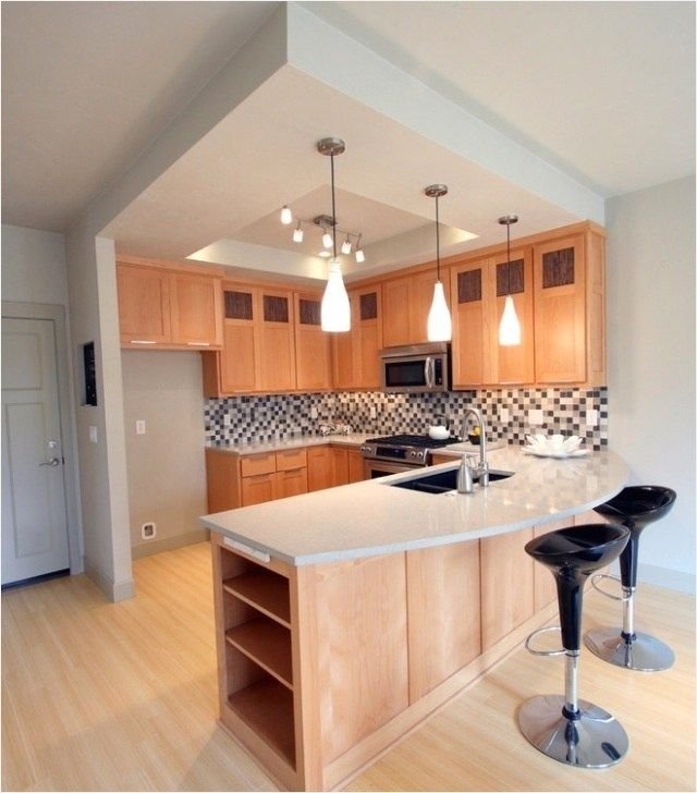Modern Kitchen Design Ideas For Small Spaces Decorequired Simple Kitchen Design Kitchen Remodel Layout Kitchen Design Small