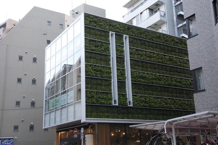 Tokyo vertical garden