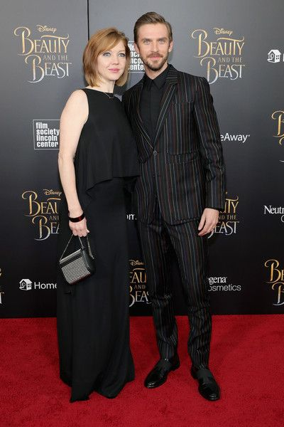"Susie Hariet Photos Photos - Actor Dan Stevens and Susie Hariet attend the ""Beauty And The Beast"" New York Screening at Alice Tully Hall at Lincoln Center on March 13, 2017 in New York City. - 'Beauty And The Beast' New York Screening"