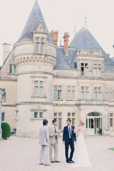 French Chateau wedding site perfect for a chic and grand wedding