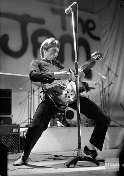 Ian Dickson - The Jam, Reading, 1977. Can't believe Paul Weller ditched the Jam to form Style Council. Good God, what was he thinking?
