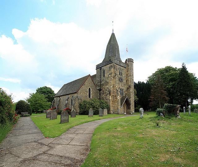 St James Church, Ewhurst, Sussex, England [Milham]