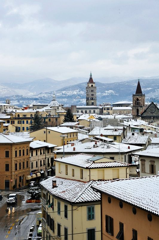 | ♕ |  Pistoia in snow - Tuscan winter  | by ©...