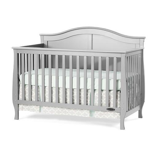 Child Craft Camden 4 In 1 Convertible Crib Cool Gray