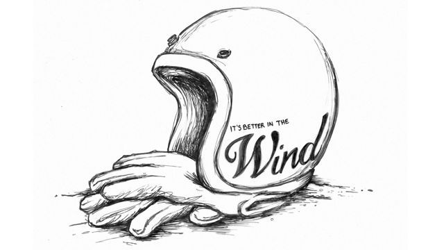 """""""It's Better In The Wind"""": Scott Toepfer's evocative homage to the pleasures of motorcycling."""