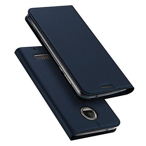 Moto Z2 Play Case Ultra Slim PU Leather Full Body TPU Bumper Cover Kickstand New #MotoZ2PlayCase