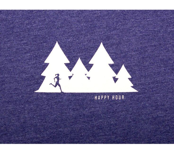 Happy Hour Trail Run - Storm T - Women's Short Sleeve T-shirt | Kaidel Sportswear