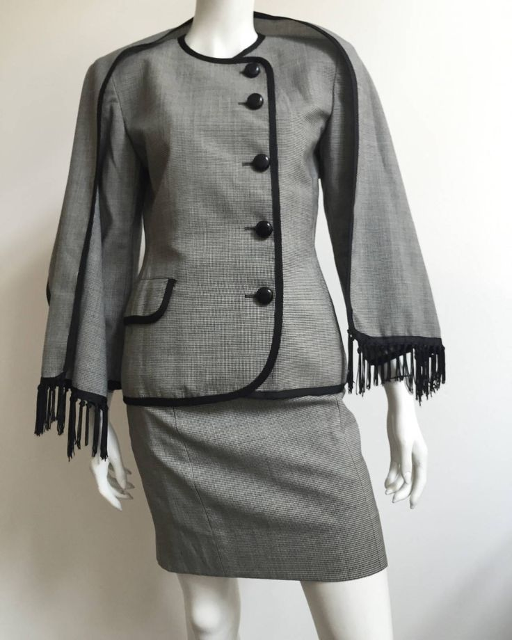 Christian Dior 80s Skirt Suit