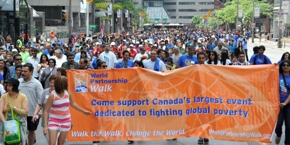 Make a commitment to helping dozens of poor communities in Asia & Africa by joining the World Partnership Walk.