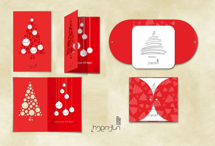 New Year's Card on Behance