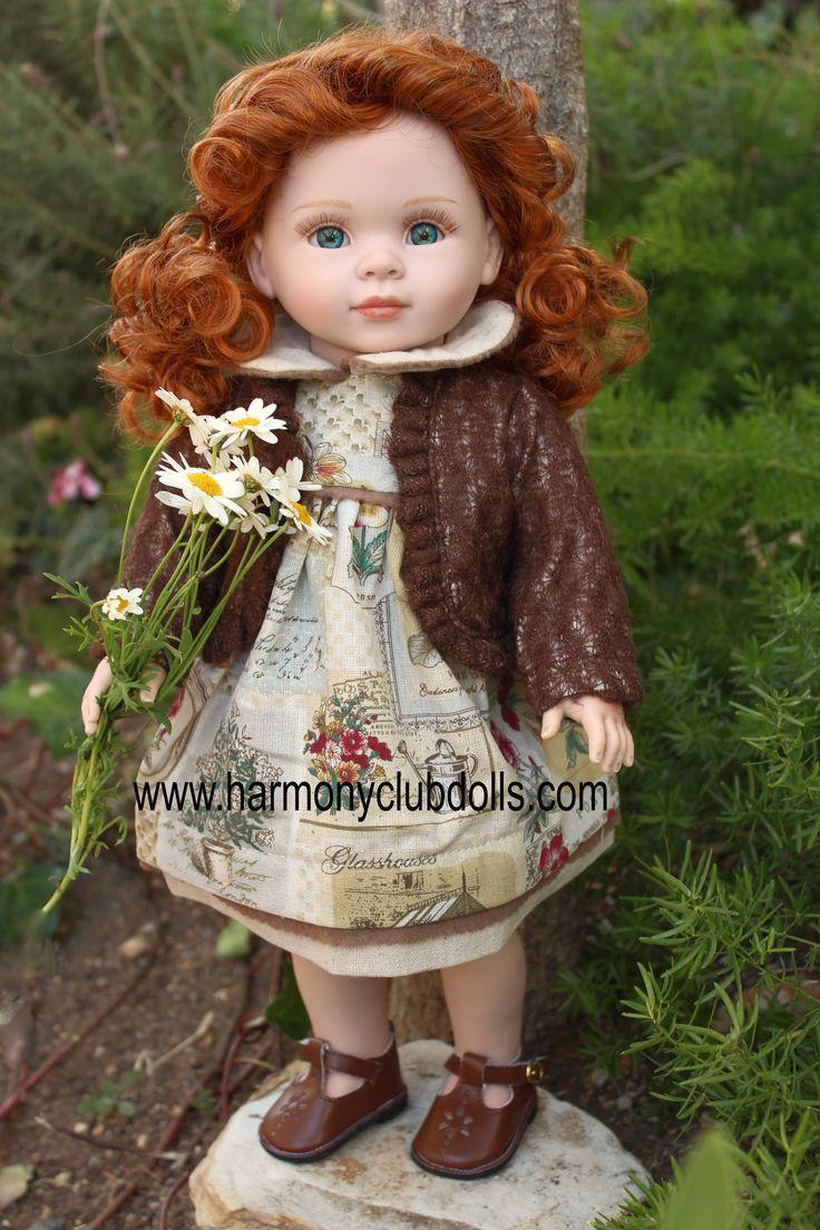 """Harmony Club Dolls 18"""" Dolls and Doll clothes to fit American Girl www.harmonyclubdolls.com"""