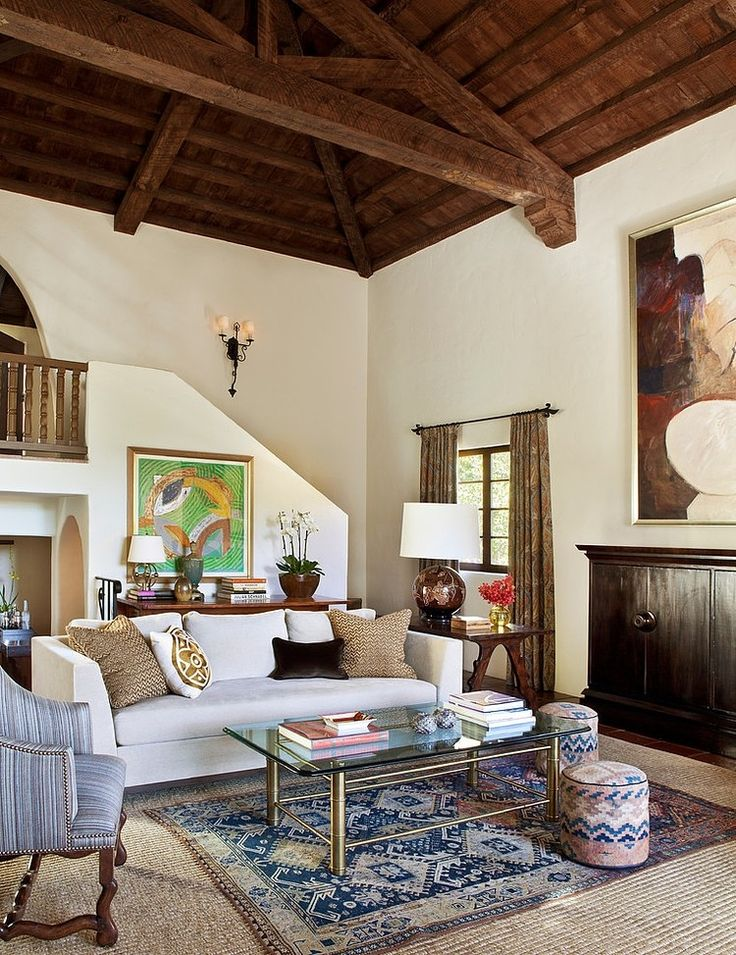 Spanish Colonial Residence by Jonathan Winslow Design