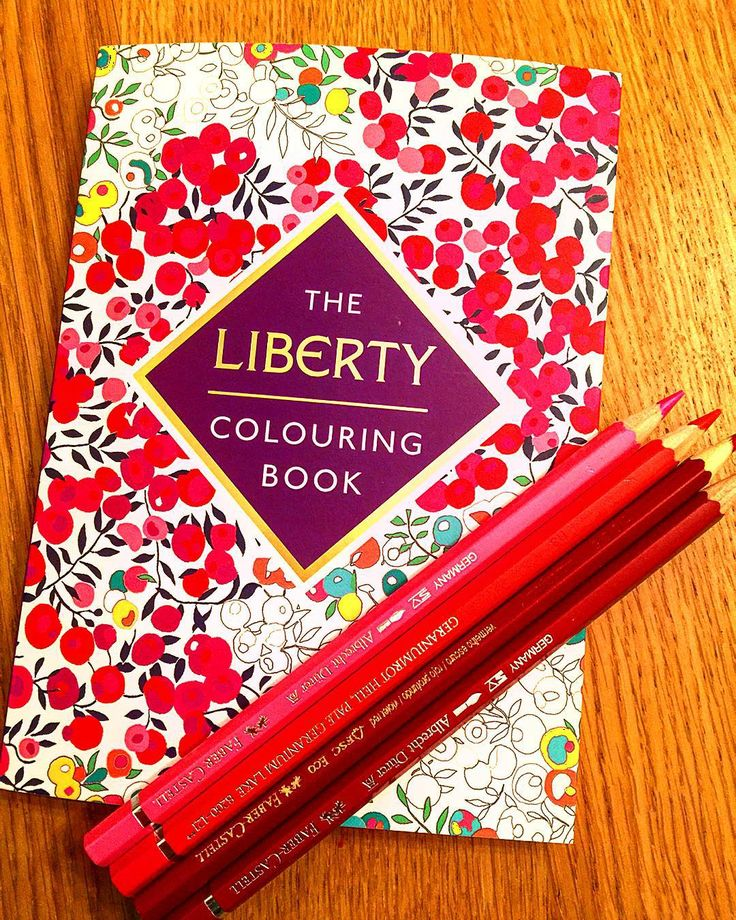 New Colouring Book I Love Liberty Prints So This Is Heaven Libertycolouringbook