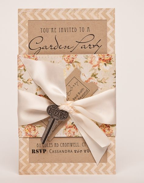 youre invited to a garden party bridal shower garden party invitationsbridal shower invitationswedding