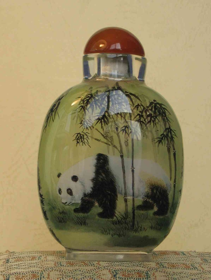 panda snuff bottle | Perfumes | Pinterest | Panda, Bottle ...