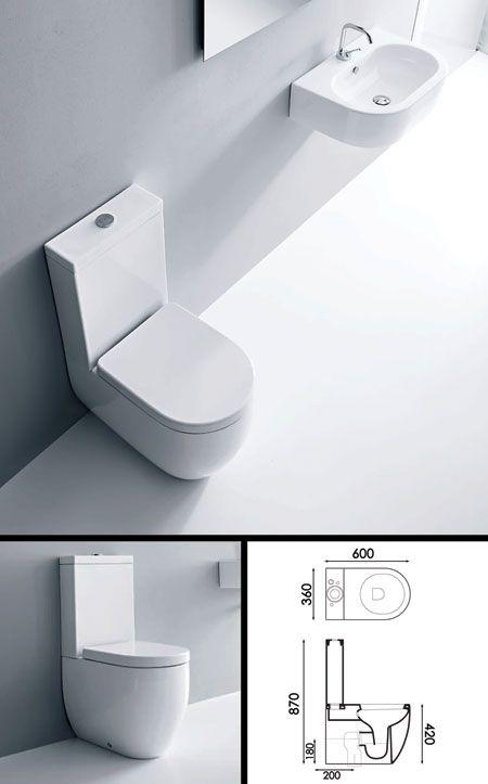 Best 25 Space saving toilet ideas on Pinterest Small bathrooms