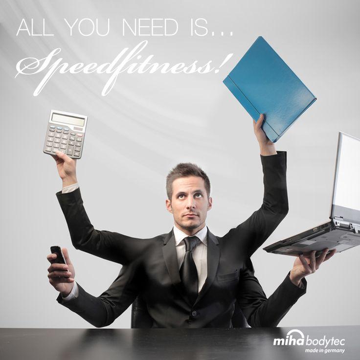 multitask funkcióban üzemelsz? akkor a speedfitnesst neked találták ki!