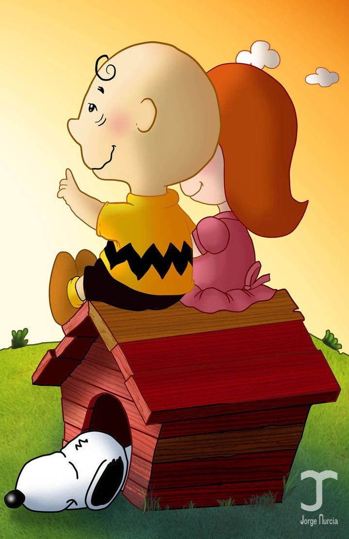 Charlie Brown and the little red haired girl by ~JORGEMUR on ...