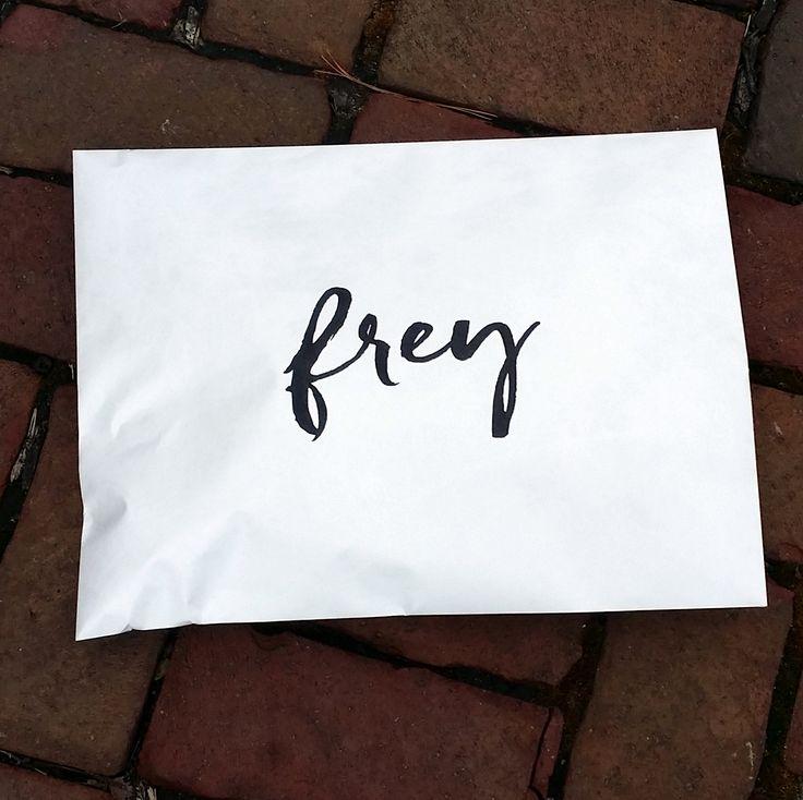 Custom branded shipping envelopes.