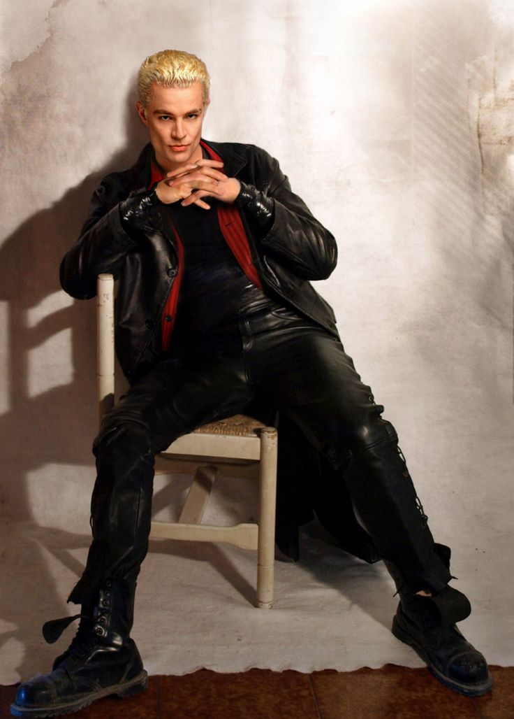 James Marsters - Spike. Ah, he's gorgeous. I don't care what anyone thinks & No one else could ever be Spike.