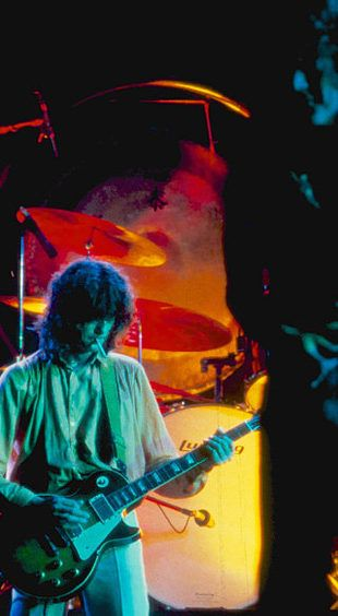 Led Zeppelin, Falkoner Theatre, Copenhagen 1979 © Photo: Christer Fahlström