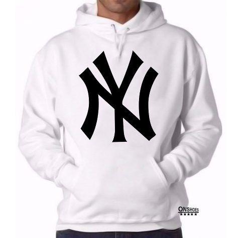 df21058662de63 blusa moleton new york yankees ny 100% algodão   jaqueta e casaco ...