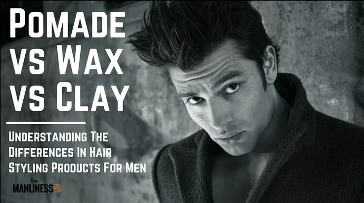 Hair Pomade vs Wax vs Clay vs Gel. Men's Hairstyling Products Differences #men #hairstyles #hairstyling #pomade #hairwax #hairgel #stylingclay