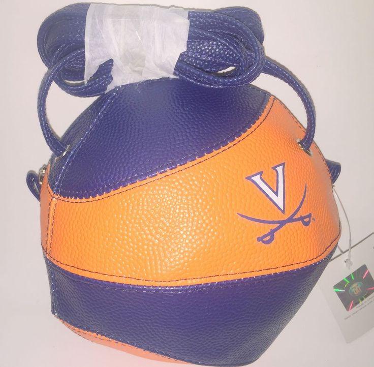 NCAA University of Virginia Basketball Cross body Bag/ Purse NEW by Sara  #bysara #UniversityofVirginiaatWiseHighlandCavaliers