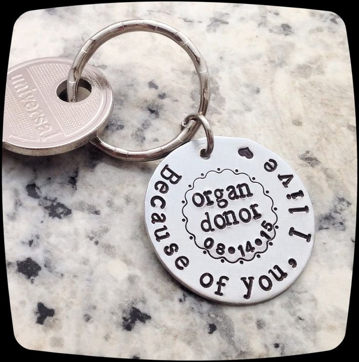 Organ Donor Gift, awareness key ring, Kidney, Liver, Bone Marrow, Heart, Cancer Gift, Cancer Healing gift by ThatKindaGirl on Etsy
