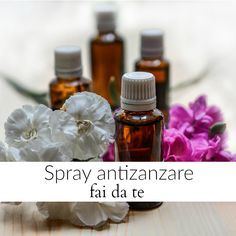 Spray antizanzare fai da te