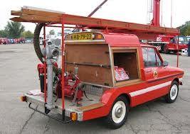 DAF 33 brandweer.