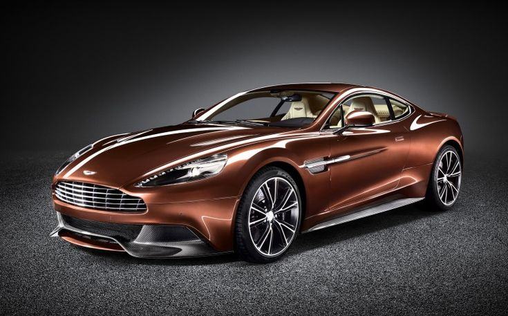 The Aston Martin Vanquish.  Priced at a moderate $299,000.00